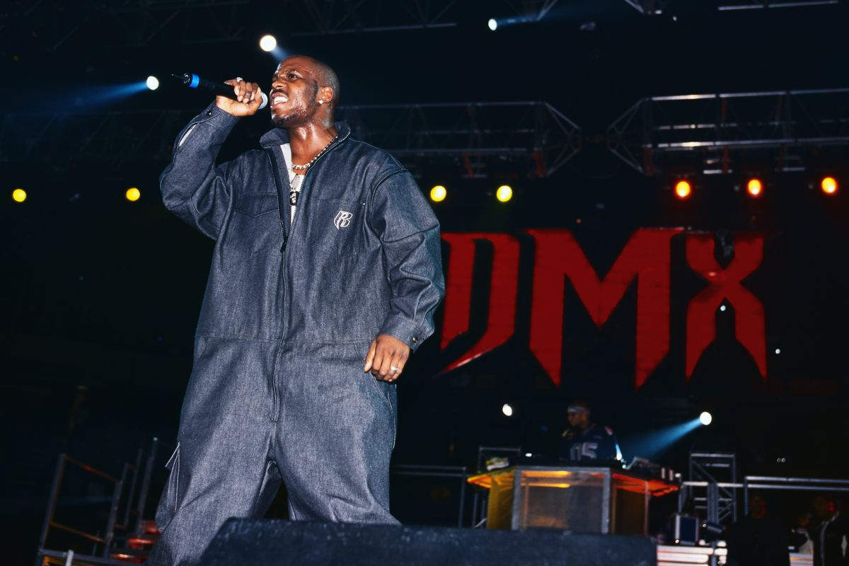 DMX Performing on Tour