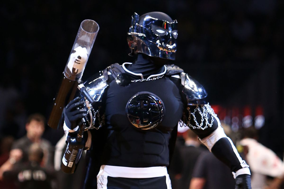 Brooklyn and New Orleans' mascots may as well be the Freddy and Jason of the mascot world.