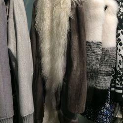 Fur-lined coat, $5,000