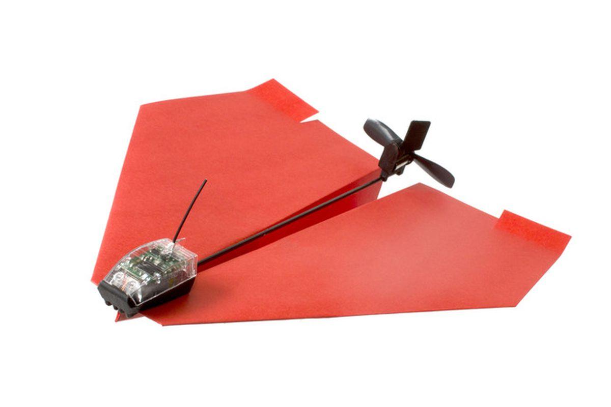 PowerUp paper plane