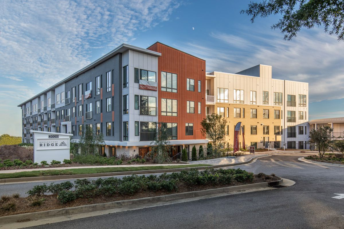 a picture of the apartment complex