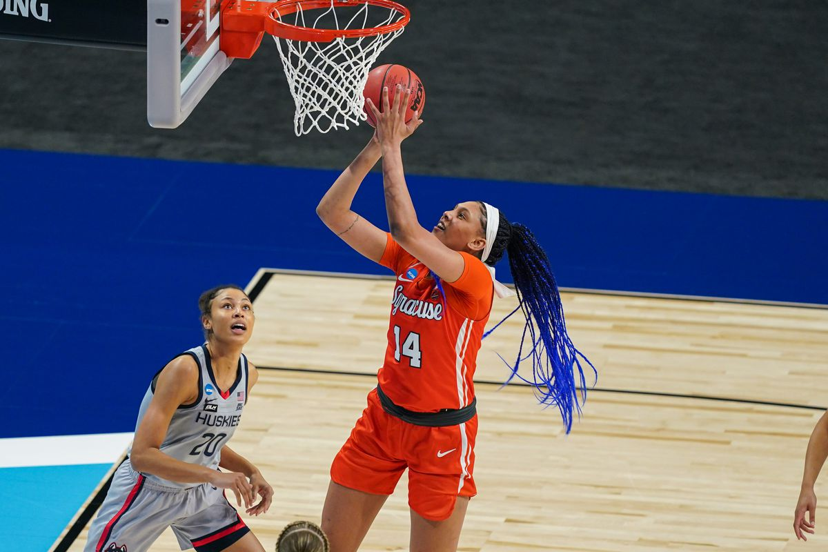 NCAA Womens Basketball: Syracuse at Connecticut