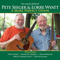 """This CD cover image released by Appleseed Recordings shows """"A More Perfect Union,"""" one of two releases by Pete Seeger."""