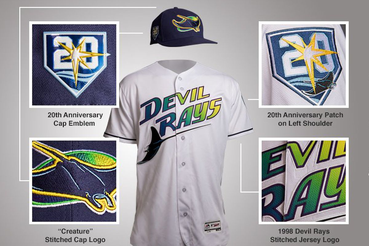 quality design 5edc4 be988 Tampa Bay Rays to bring back Devil Rays jersey in 2018 ...