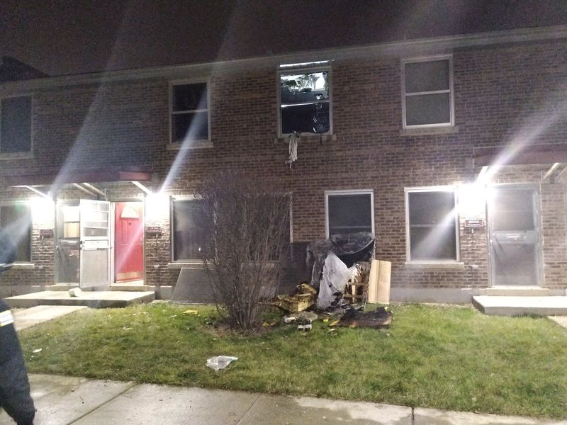 A boy died in a fire in the 13000 block of South Evans Avenue on Jan. 6, 2021, in Altgeld Gardens.