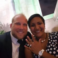 osh Holt and Thamy CaleÑo got engaged in May. Holt went to Venezuela, where his fiancÉ lives, to get married. They were arrested and accused of stockpiling weapons.