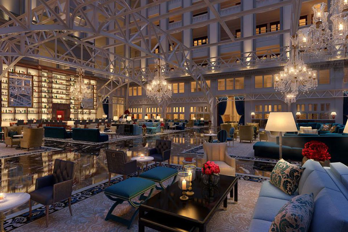 Trump Hotel S Lobby Official Rendering