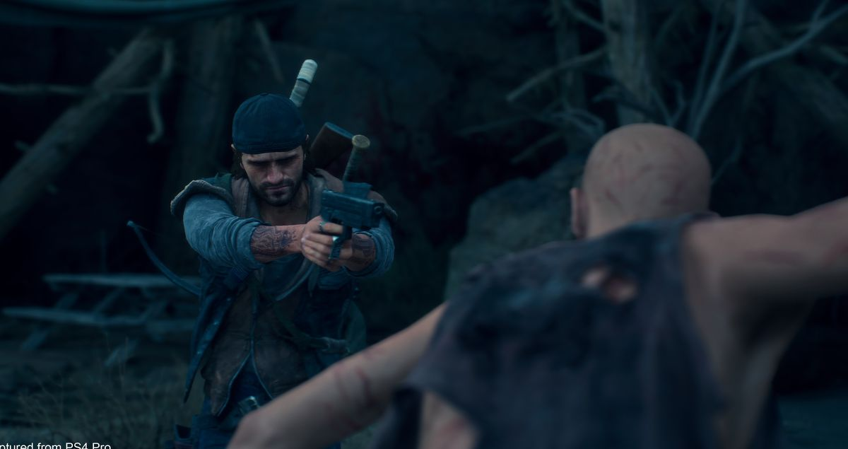 Days Gone - Deacon aiming at a Freaker
