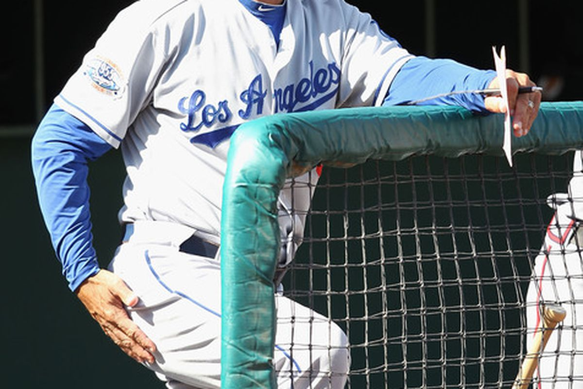 Don Mattingly's first coaching staff has been announced by the Dodgers.