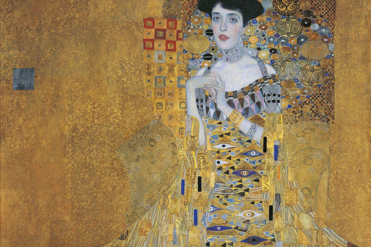 Portrait of Adele Bloch-Bauer I by Gustav Klimt. Photo: Getty