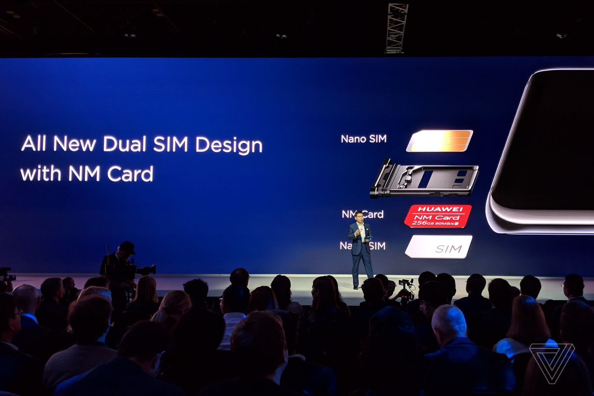 Huawei's Nano Memory Cards are replacing microSD on its latest