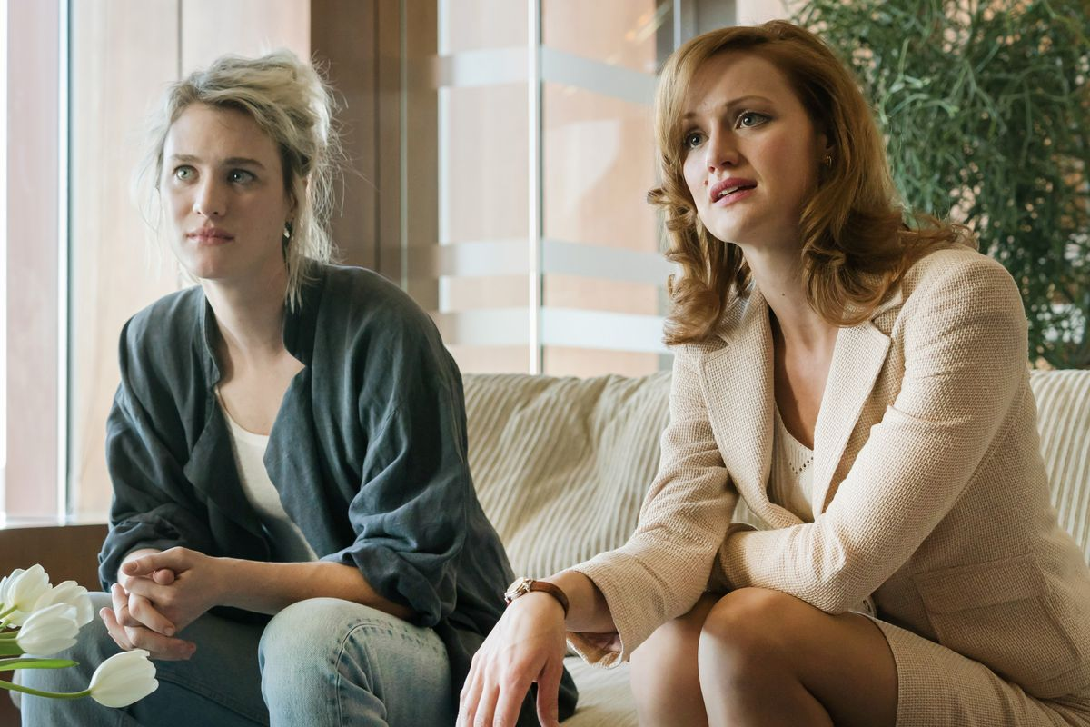 Cameron (Mackenzie Davis, left) and Donna (Kerry Bishé) have been at the center of Halt and Catch Fire's superior second season.