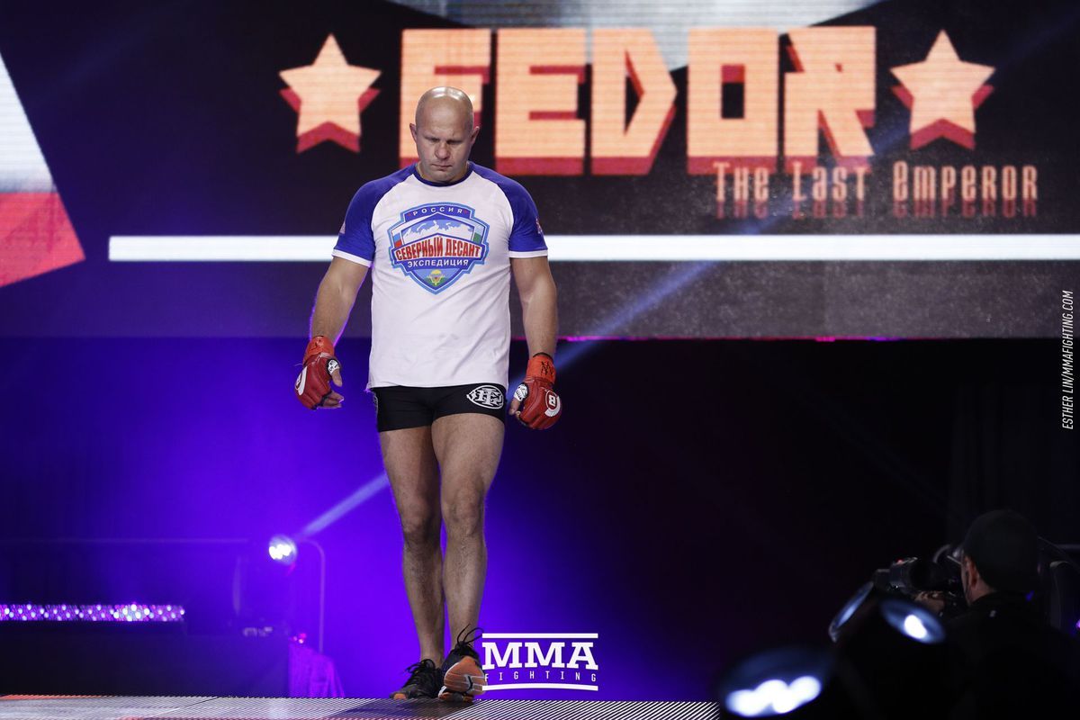 Whether or not Bellator 198 is Fedor's swan song, we all