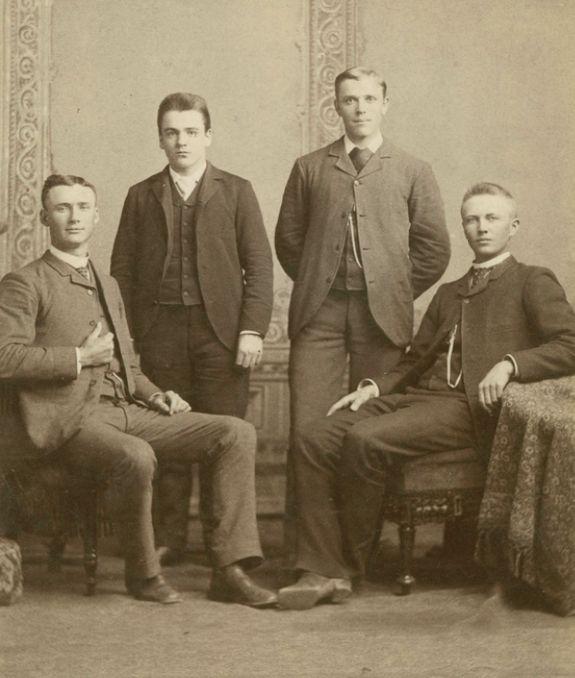 Edward Bennion, Samuel A. Hendricks, Joseph F. Merrill, and DH Christensen attended the University of Utah in 1889.