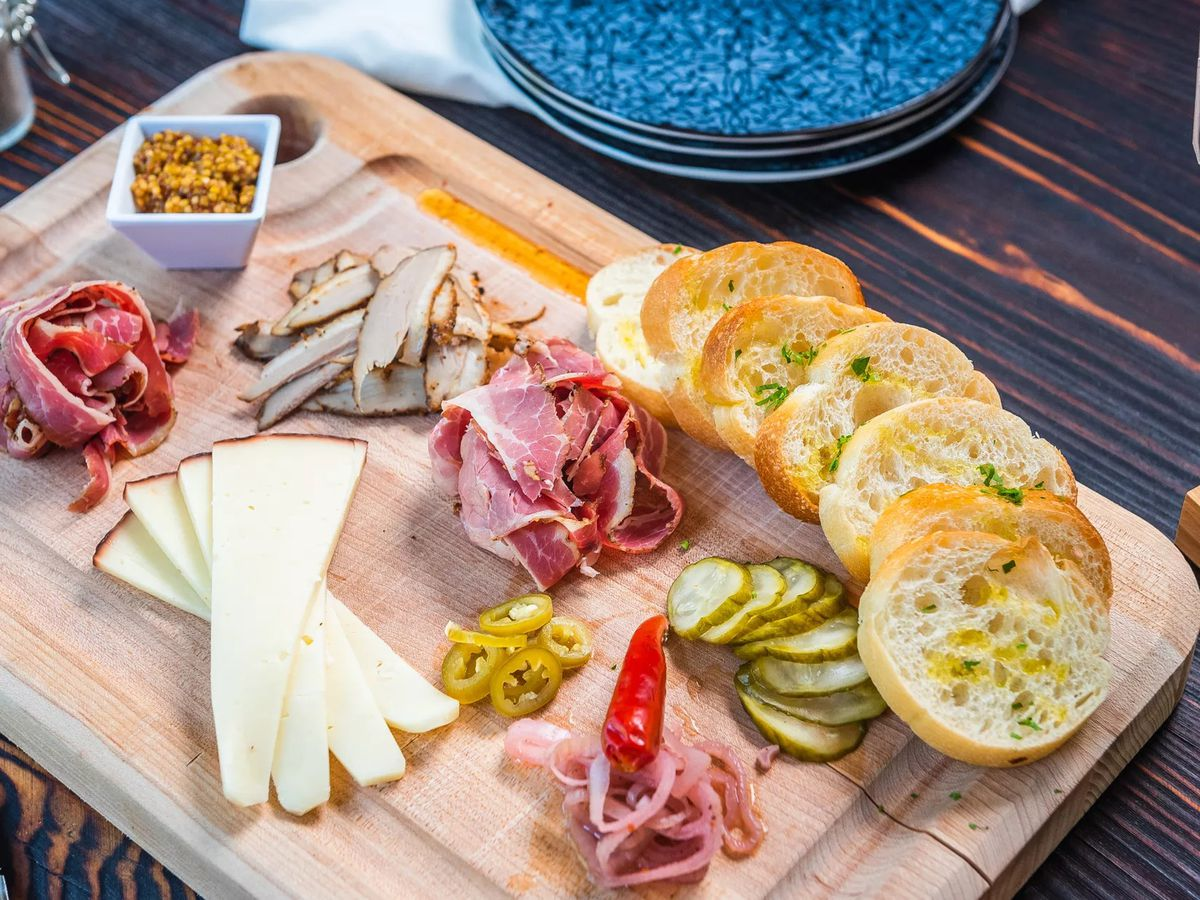 The Lower East Side charcuterie board at CR NoMa