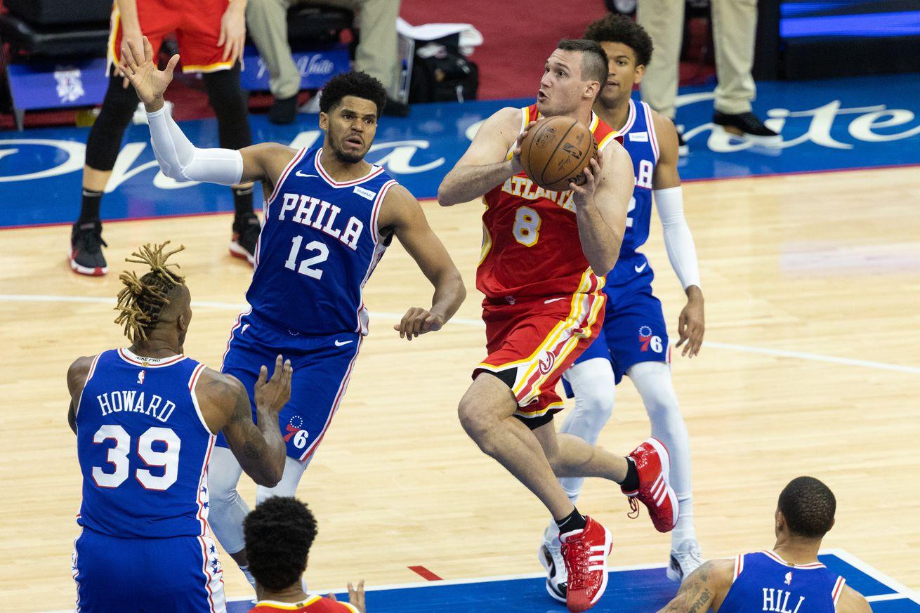 NBA: Playoffs-Atlanta Hawks at Philadelphia 76ers