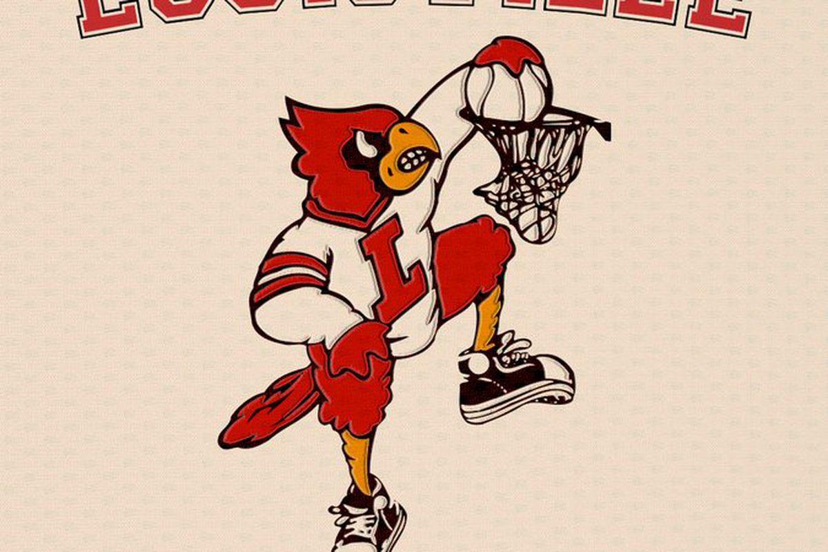 louisville is bringing the dunking cardinal bird uniforms back