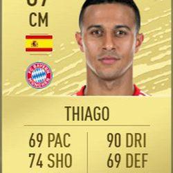 Thiago in FIFA 2020