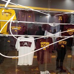 Basketball Team gear display