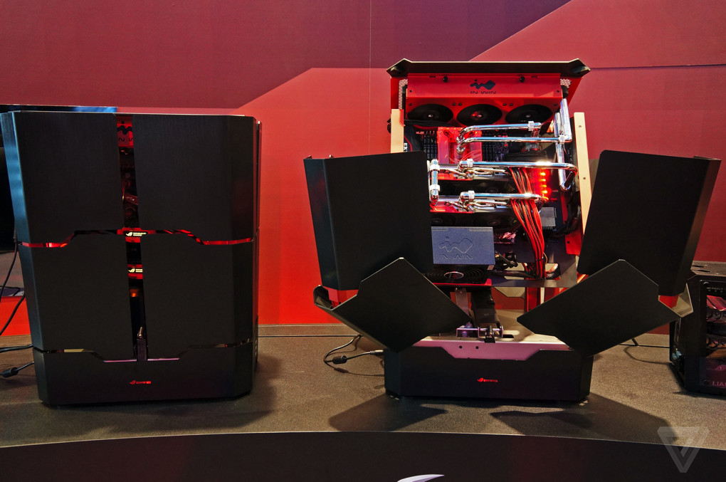This Is The Sickest Gaming Pc Case Ever The Verge