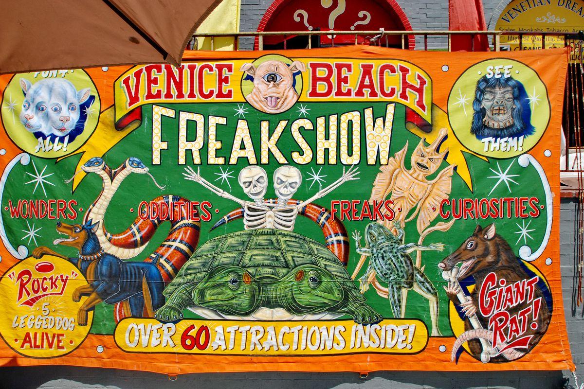 Venice Beach Freakshow poster