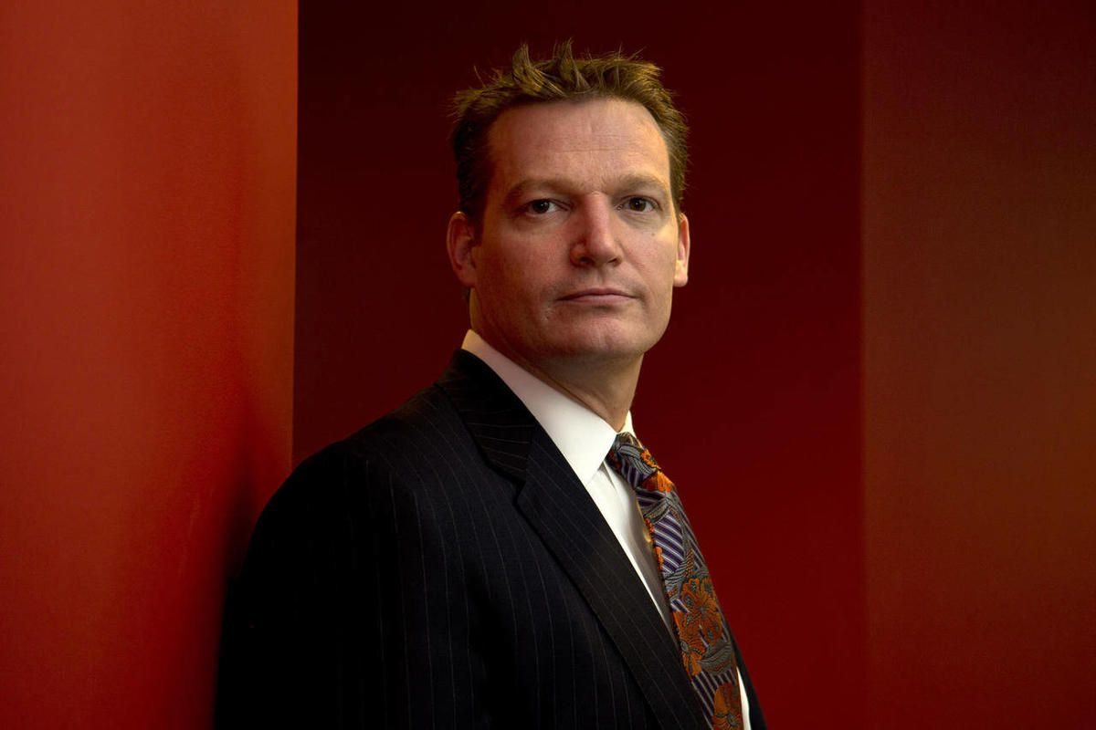 Mandiant founder and CEO Kevin Mandia is seen in his office in Alexandria, Va., Wednesday, Feb. 20, 2013. Mandiant, started in 2004 by Mandia, a private technology security firm described in extraordinary detail efforts it blamed on a Chinese military uni