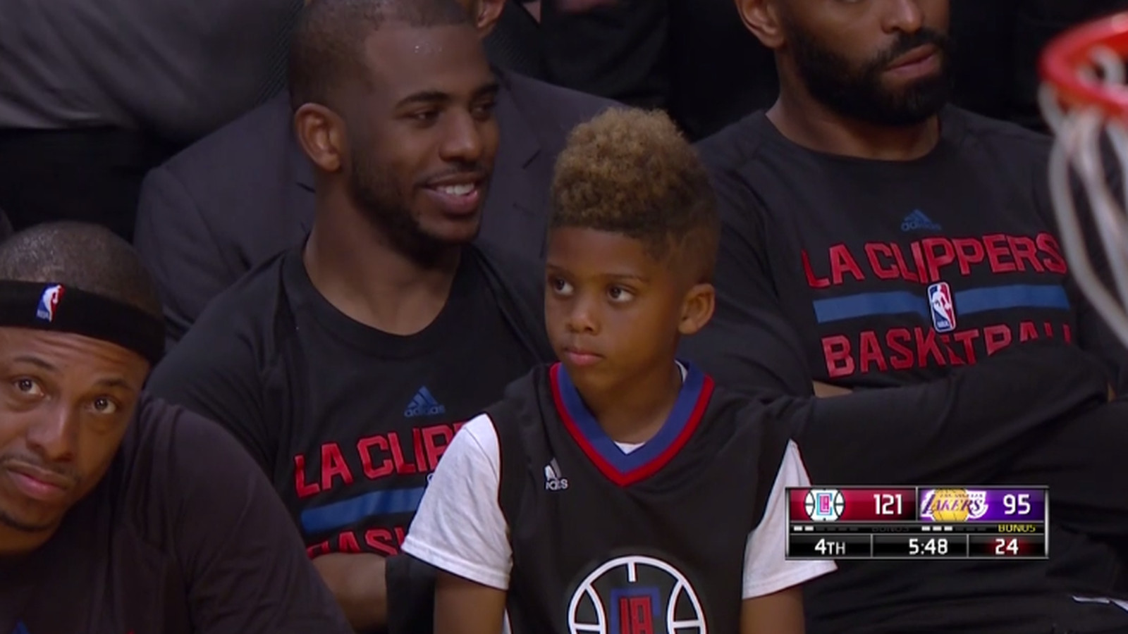 Chris Paul Hawks Chris Paul's son is si...