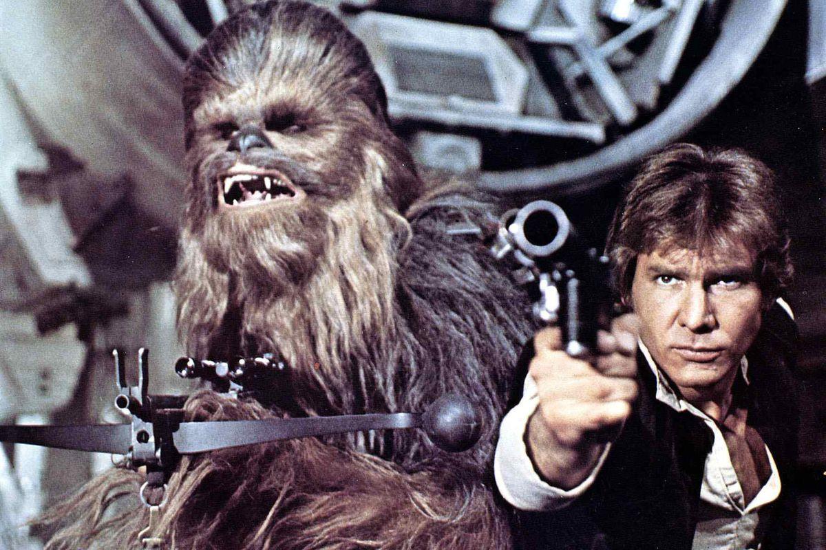 Krieg Der Sterne, 1970Er, 1970S, Chewbacca, Fantasy, Film, Hans Solo, Science Fiction, Star Wars