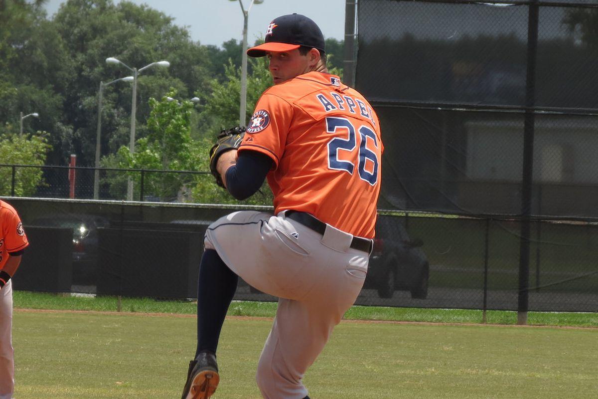 Astros/Rafters RHP Mark Appel
