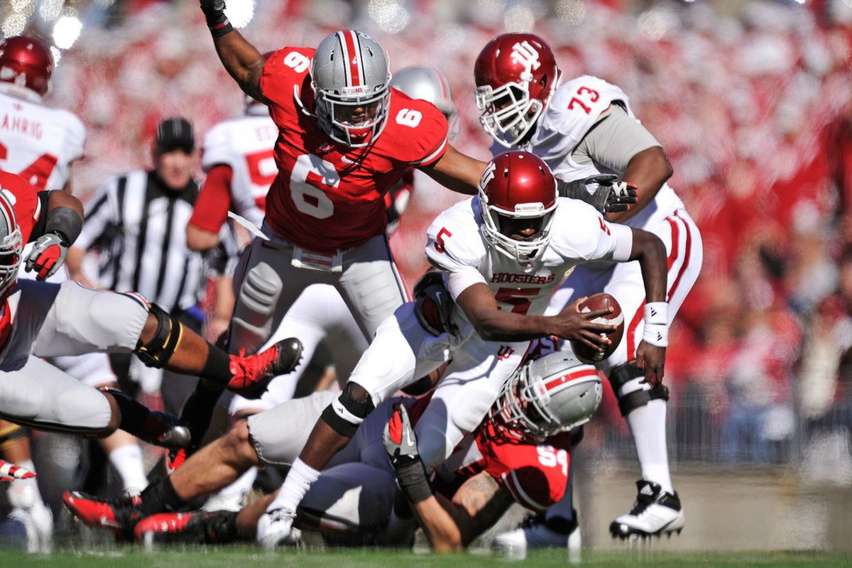 Etienne Sabino remains markedly absence from OSU's depth chart.