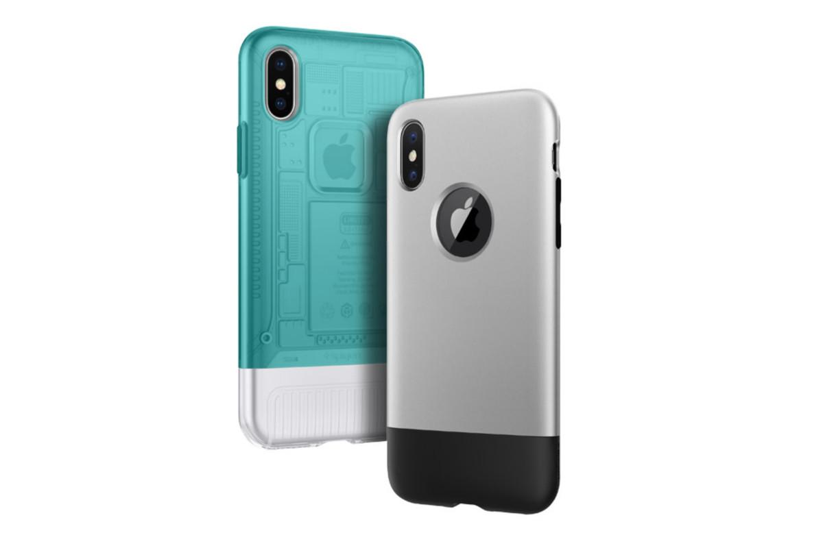 new concept 89512 252ed Spigen's new iPhone X cases prey on your nostalgia for retro Apple ...