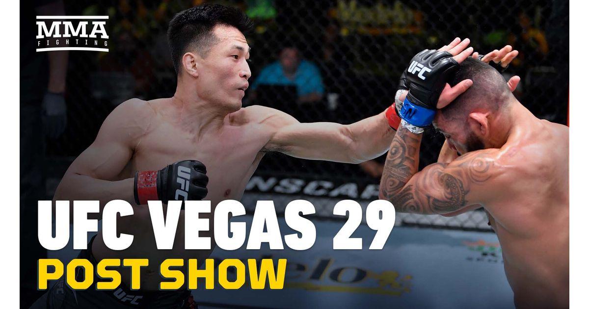 Video: UFC Vegas 29 post-fight show