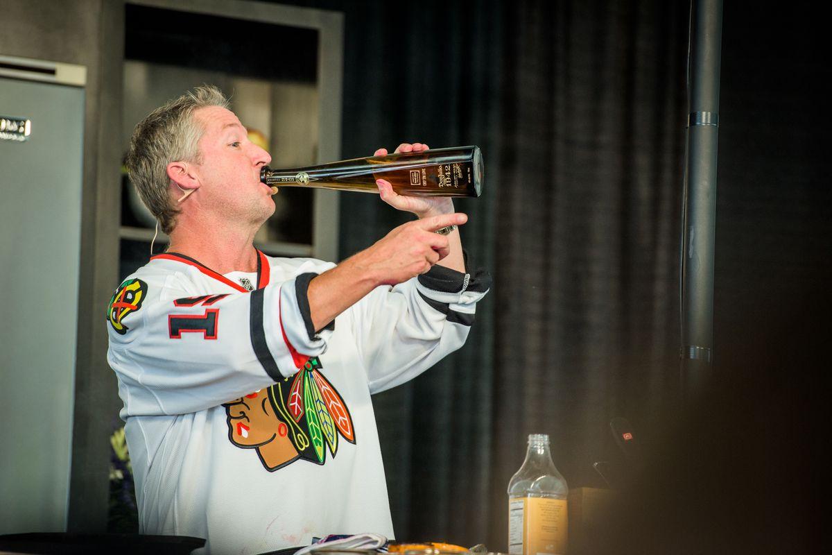 Tim Love at Chicago Food + Wine.