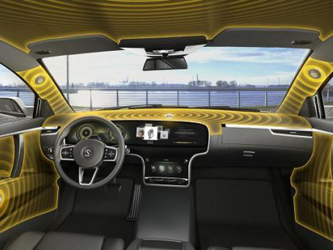 This New Audio System Turns Your Car S Interior Into One Giant