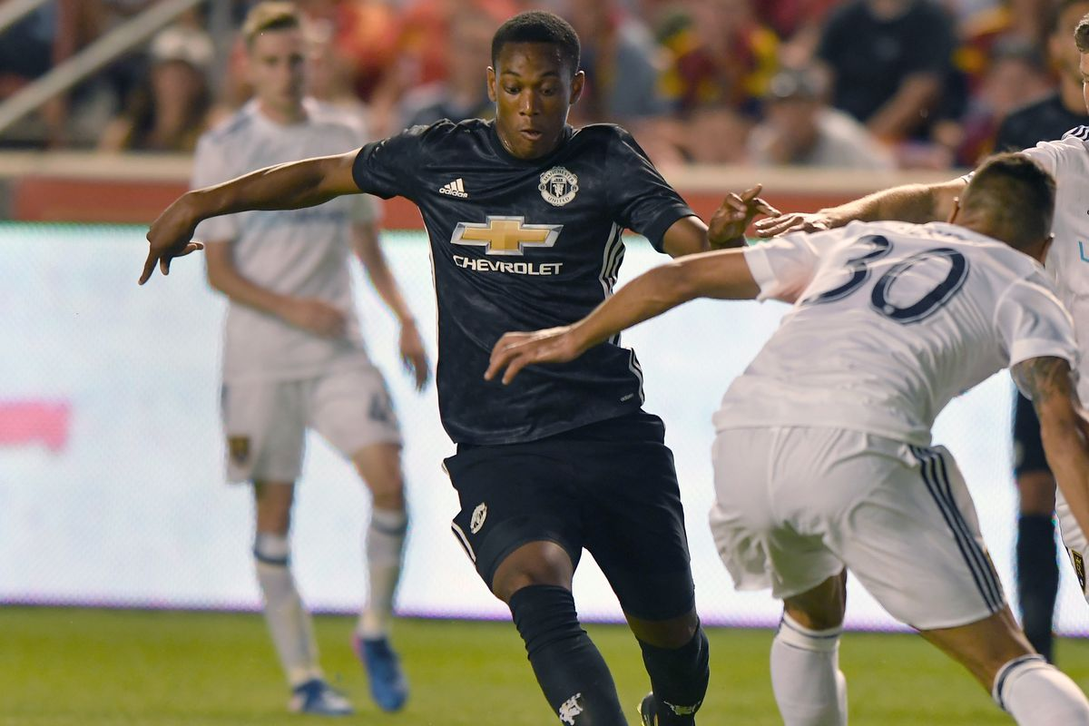 Anthony Martial bid rejected by Man Utd