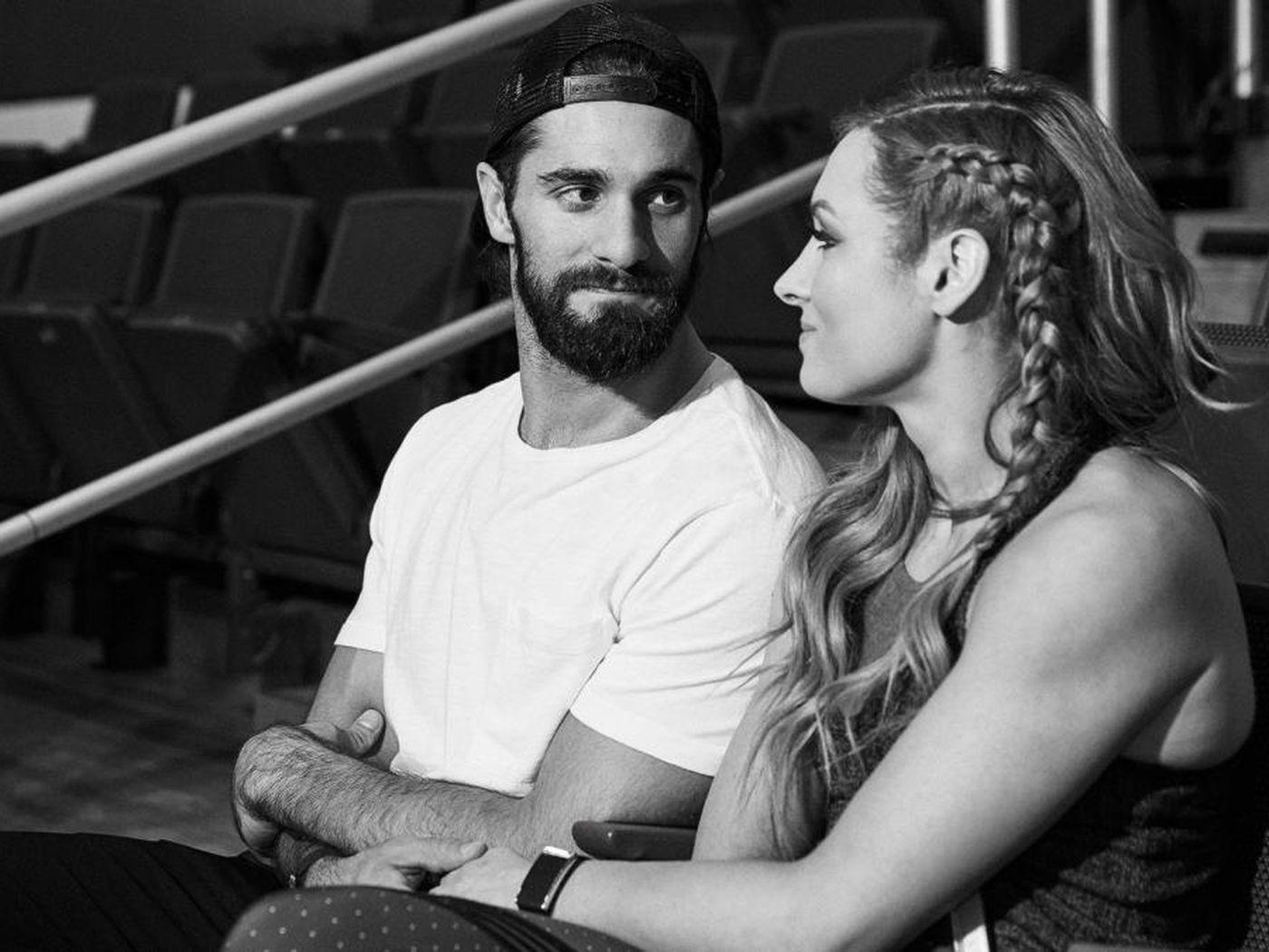 Retour en arrière: Becky Lynch de la WWE révèle comment elle a commencé à sortir avec Seth Rollins 1