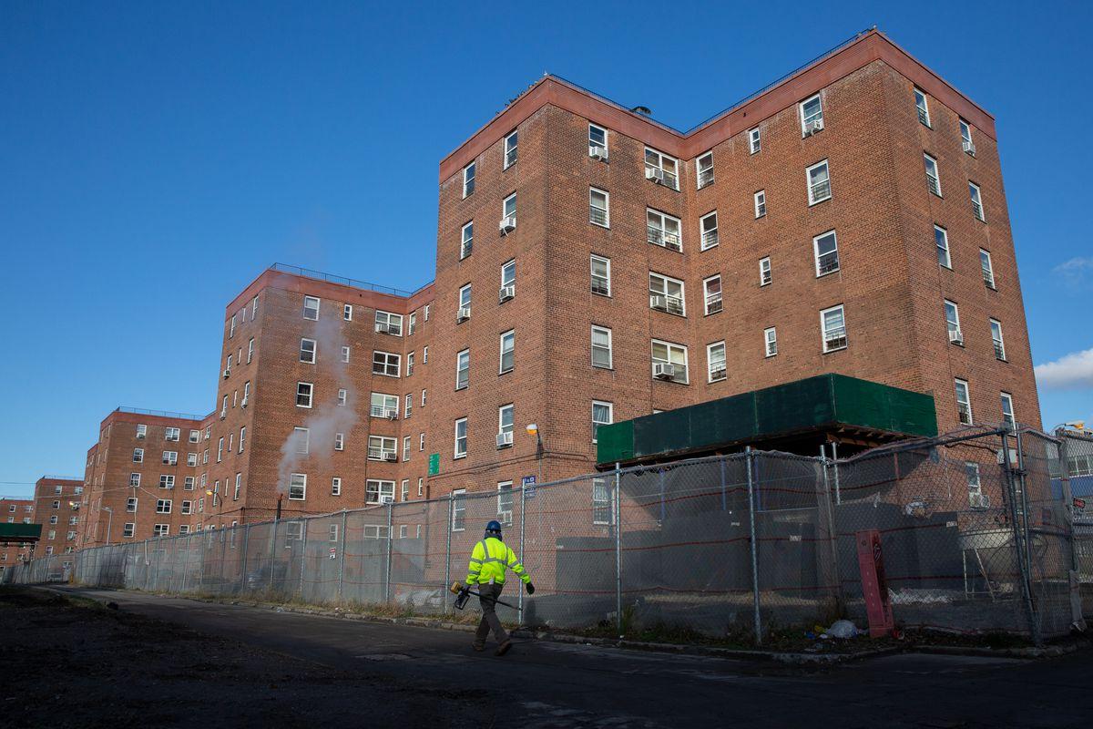 The Red Hook Houses in Brooklyn, Nov. 4, 2020.
