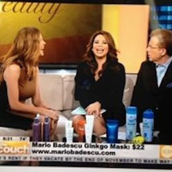 I'm starting the day with a morning appearance on <b>CBS</b>. I've been doing TV for beauty for over 15 years and I do anywhere from three to six pieces a month.