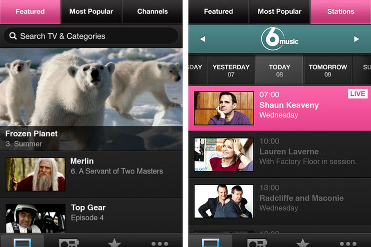 BBC iPlayer will allow video downloads to smartphones and