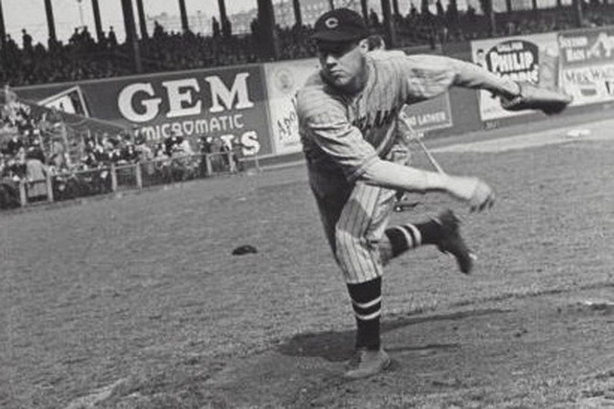 Bob Feller, May 1st, 1937, Age 18.