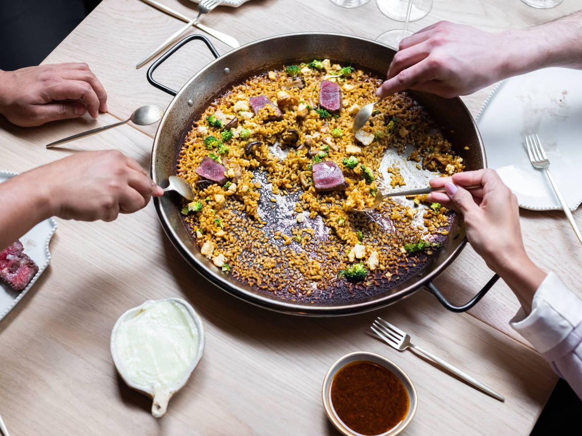Arros QD by Three Michelin star restaurateur Quique DaCosta brings paella to London