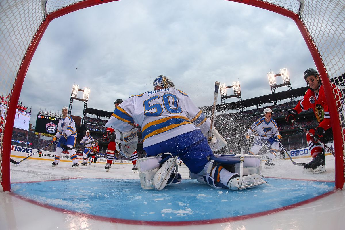 lighting the lamp winter classic edition st louis game time