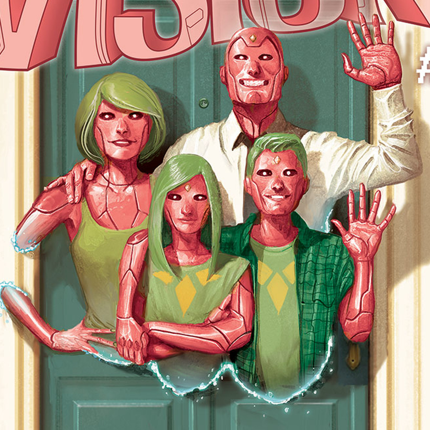 Tom King's Vision comics are the perfect follow-up to WandaVision - The Verge