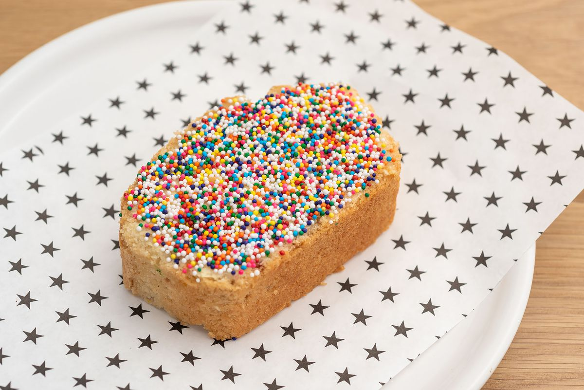 Fairy bread at Strings of Life.