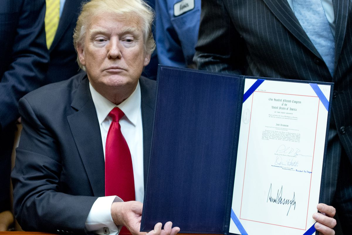 Donald Trump Health Care Quote Trump Tweets That He Will Sign Literally Any Health Care Bill  Vox