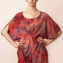 "<b>Life With Bird</b> red zipper dress from Condor, <a href=""http://www.shoptiques.com/products/red-zipper-dress"">$320</a>."