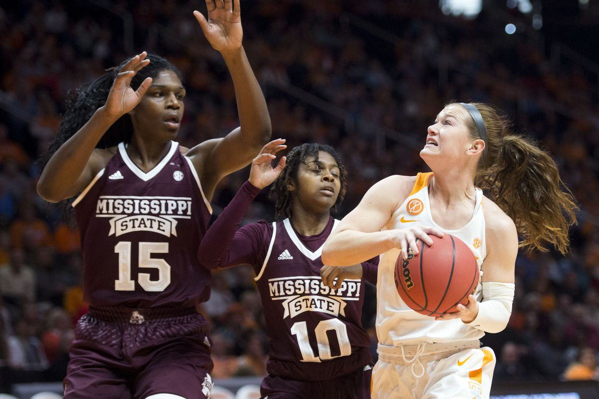 NCAA Womens Basketball: Mississippi St. at Tennessee