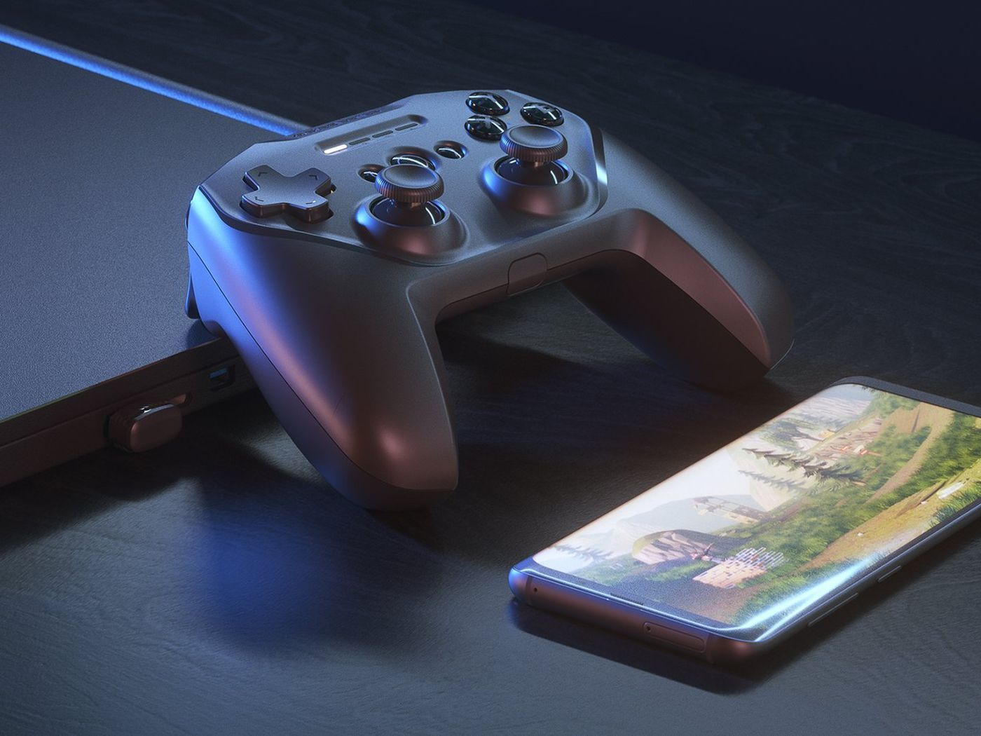 SteelSeries' new Stratus Duo mobile controller is here and