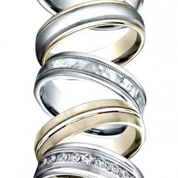 Mens Wedding Bands from Benchmark