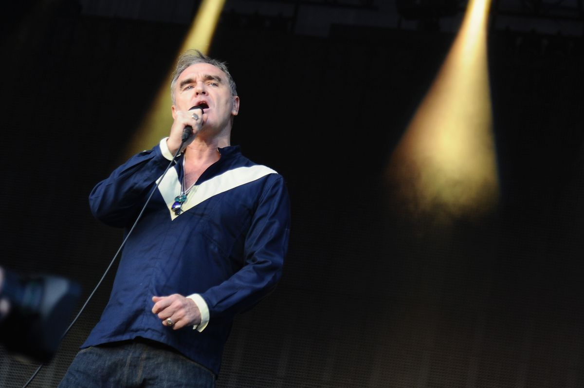Morrissey (pictured in 2015) is on the bill for Riot Fest Chicago.. |Photo by Ilya S. Savenok/Getty Images